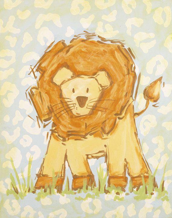 art for kids kids wall art safari art monkey by AveQcollection ...