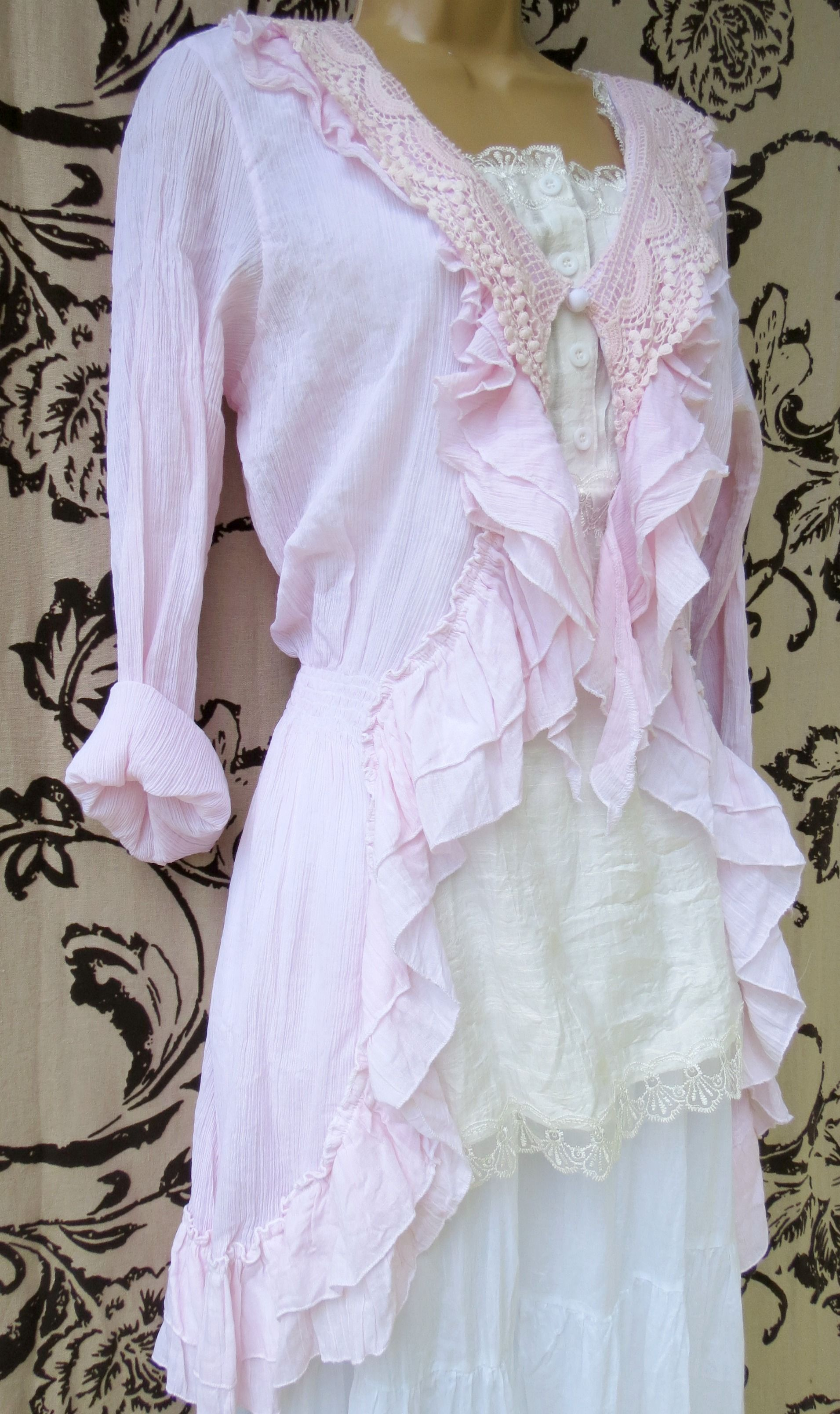 French Maiden in Sweet pink Parisragscom  My Designs
