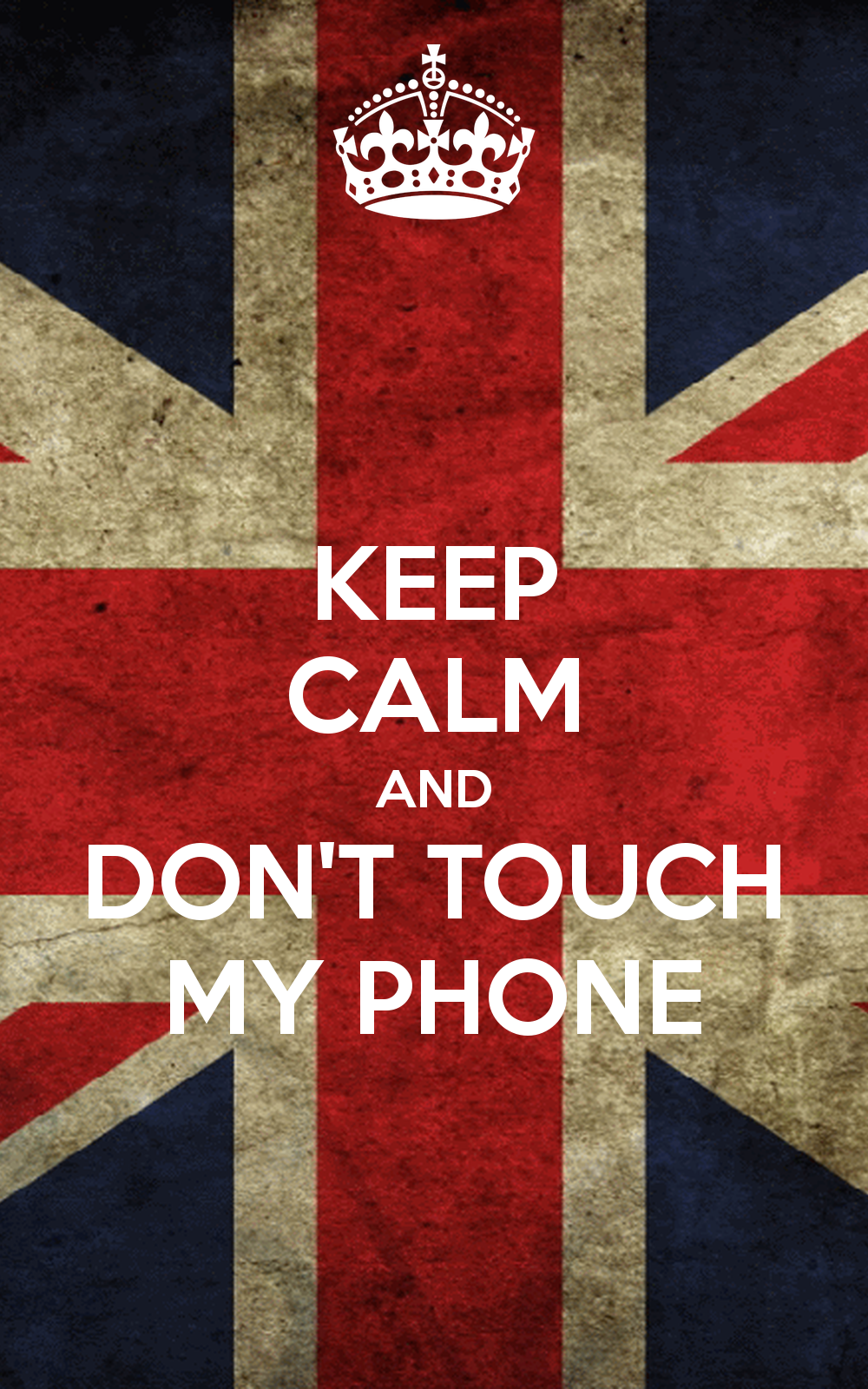 don't touch my phone Buscar con Google Fondos