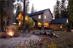 Bretz Mountain Chateau   Shaver Lake CA Vacation Rentals and Real Estate