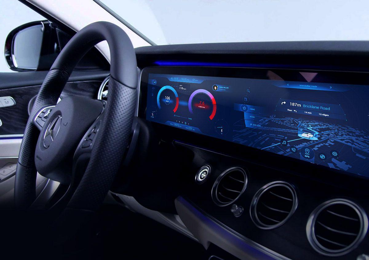 Mercedes benz infotainment dashboard by sunnie yeo user for Mercedes benz dashboard