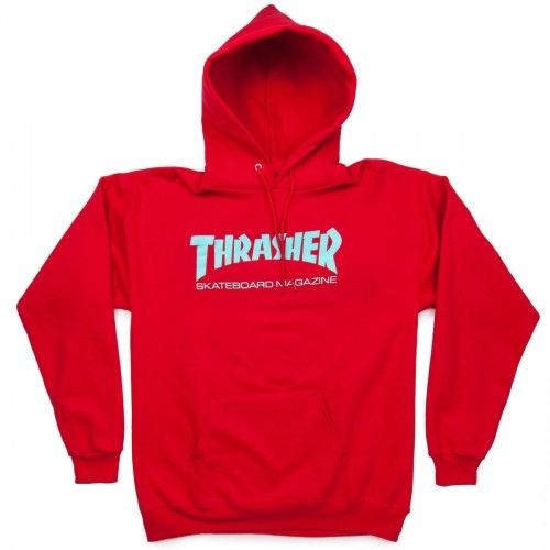 cd5beec86bf4 Thrasher Skate Mag Hoodie - Red in 2019