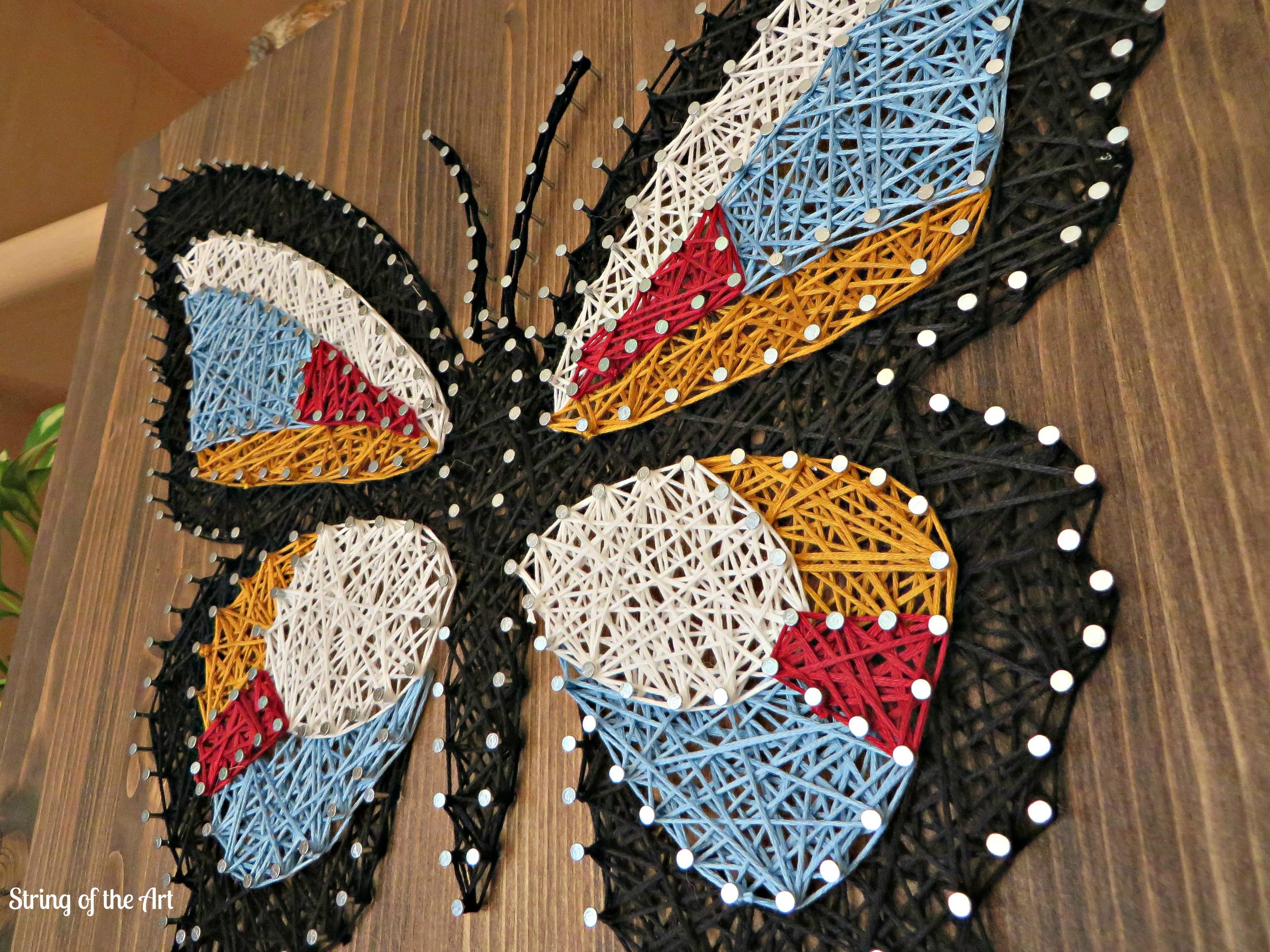 String art craft kit - String Art Diy Crafts Kit Save 10 Off The Purchase Price Of This Butterfly