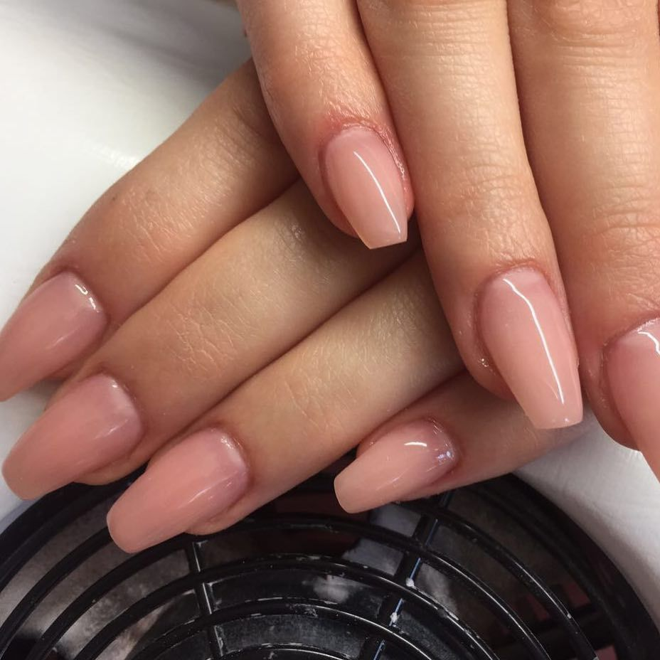 Modellage mit Aufbau Make Up Gel - Brandy Rose www.magnonails.de ...