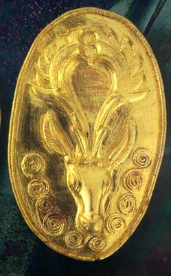 Thracian gold work C.500 BC