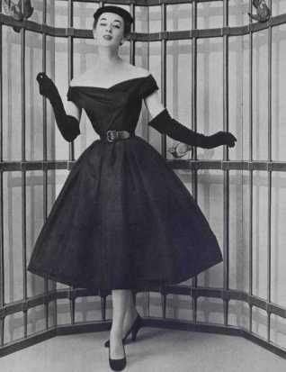Мода 50-х годов: стиль Нью-Лук в одежде, фото и примеры (с ...