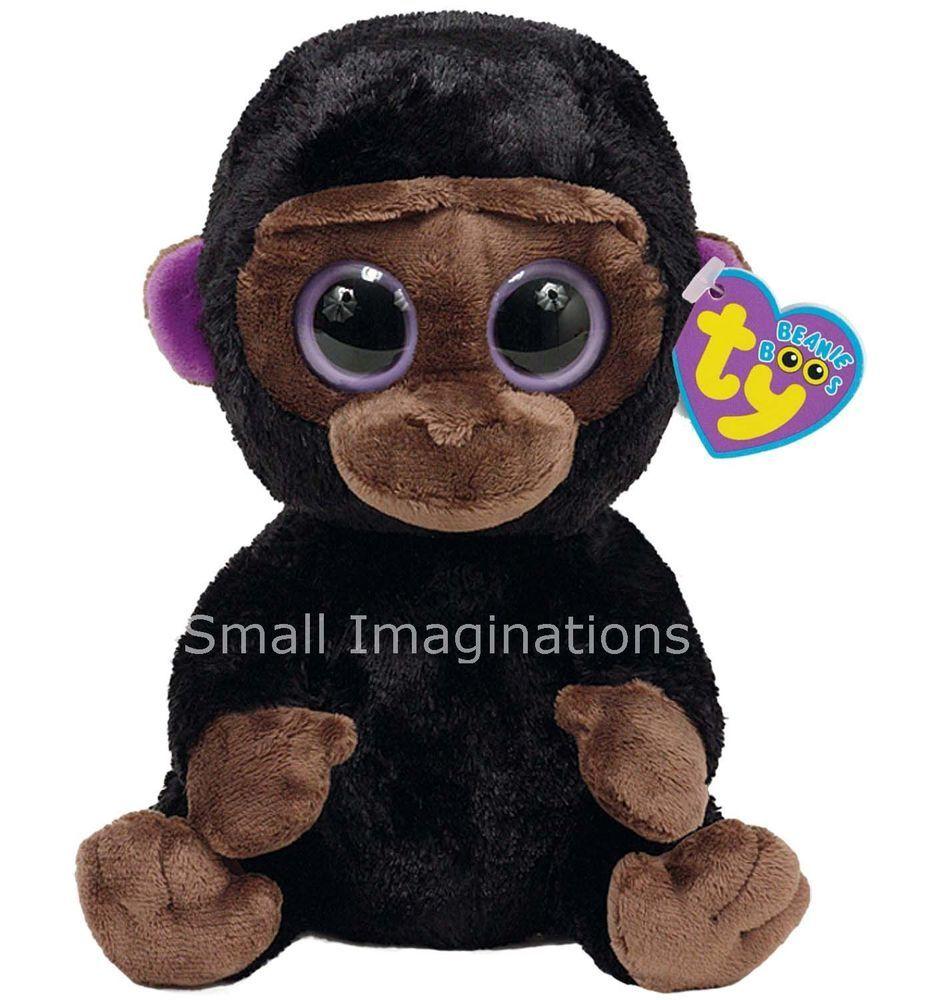 9 inch Romeo the Gorilla - TY Beanie Boos Buddy Boo Plush Soft Toy Teddy fbc5cd2e353f