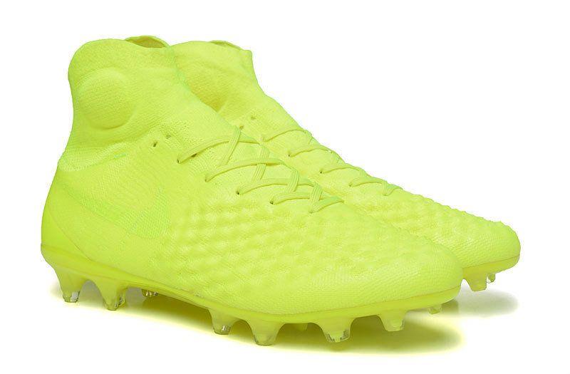marrón guía Trágico  Nuevas 2017 Zapatos de Futbol Nike Magista Obra II FG - Amarillo   Zapatos  de fútbol nike, Nike fútbol, Nike