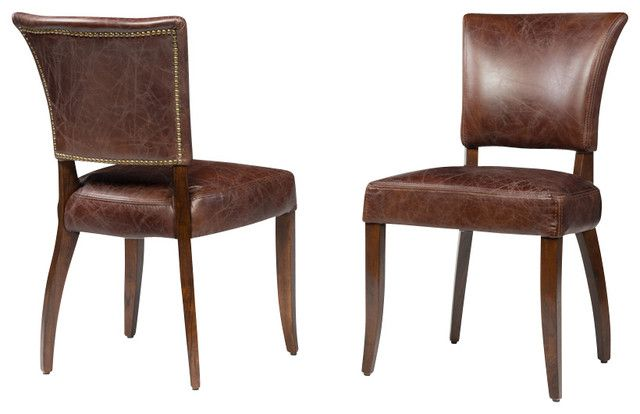 Leather Dining Room Chairs A Touch Of Class And Elegance In Interesting Leather Dining Room Sets Inspiration