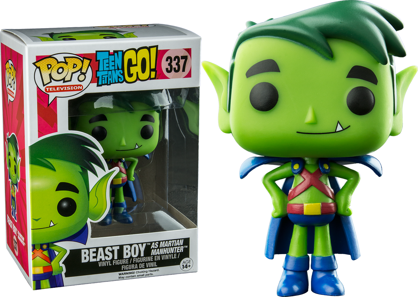 Pop! Television - Teen Titans Go! - Beast Boy as Martian Manhunter