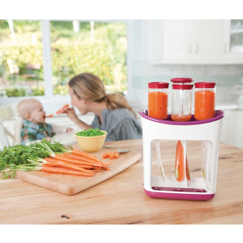 Nikidom.com - Infantino - FRESH SQUEEZED SET ENVASADO #babys #babyfood #juice love this for my baby boy!