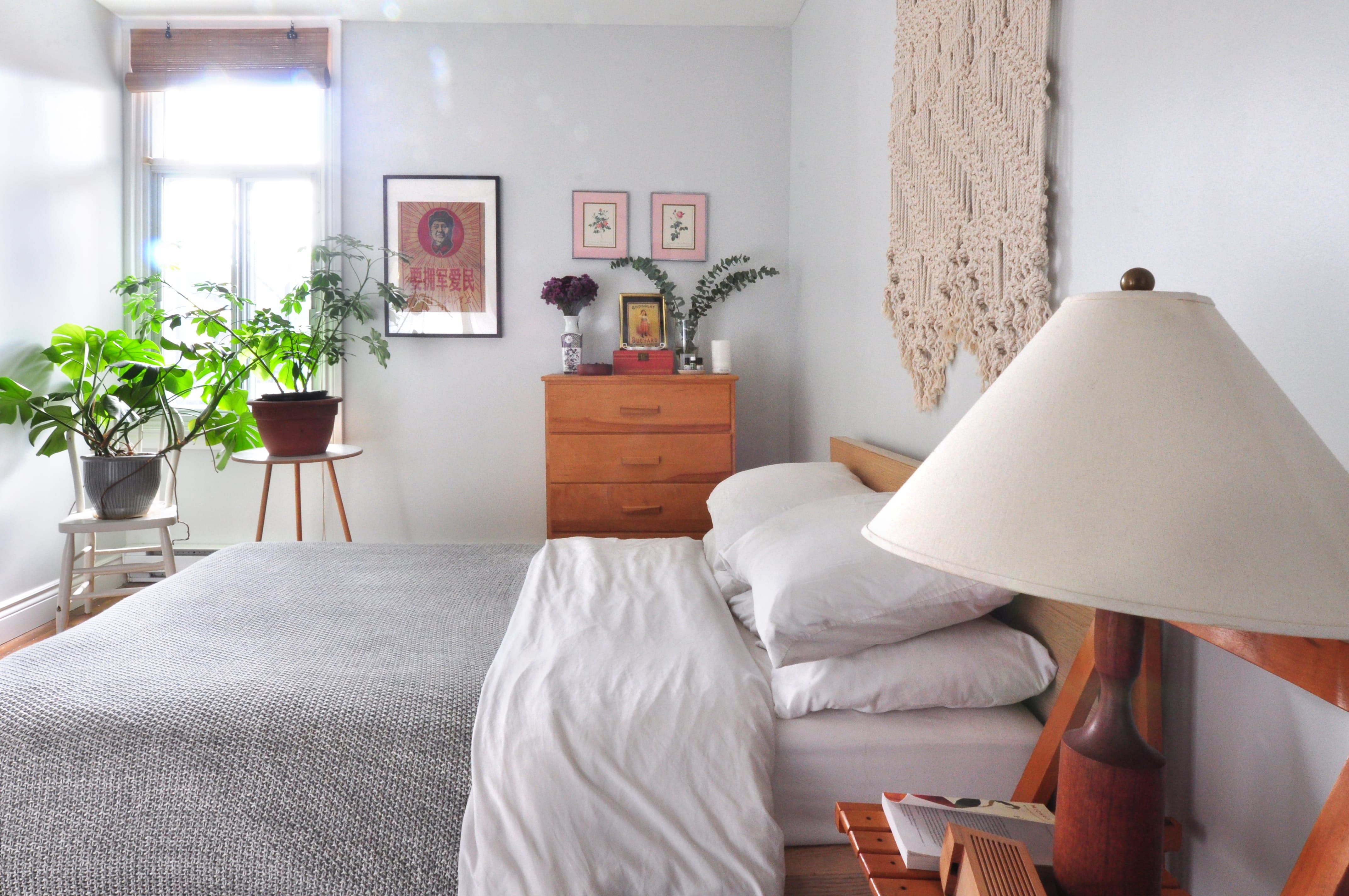 How to arrange a very small living room house tour a comfortable organized montreal home  spaces house