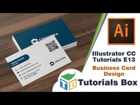 Illustrator cc tutorials e13 business card design youtube illustrator cc tutorials e13 business card design youtube reheart Gallery