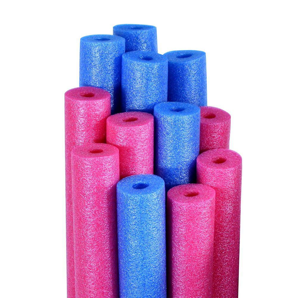 Pool Mate Blue And Pink Swimming Pool Water Noodles 12 Pack Twln36 12 Pm The Home Depot Swimming Pool Noodles Swimming Pool Water Pool Toys
