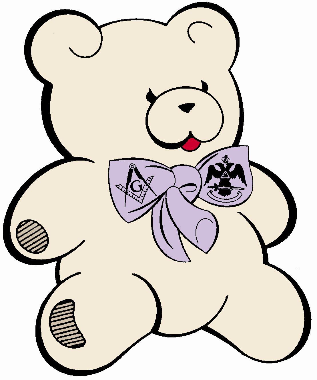 Children's Dyslexia Center Teddy Bear Logo