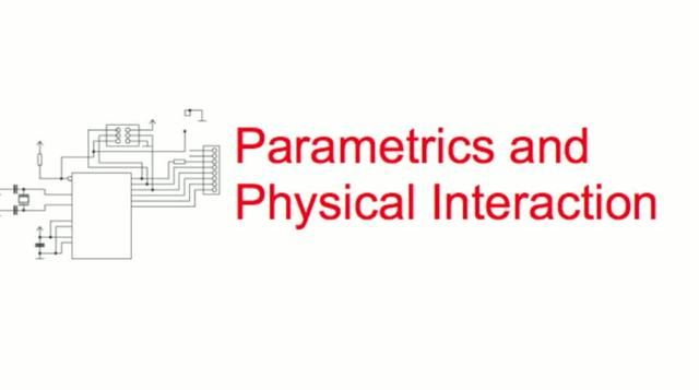 Parametrics & Physical Interaction / Smart Geometry 2010. Really interesting video talking about how to use parametric software to control objects in space. Lots to think about. Great work over there on so many different levels.