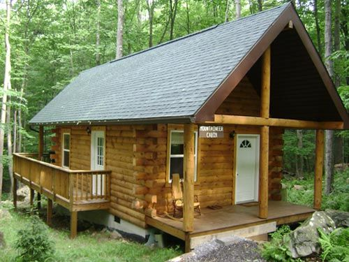 Mountain Creek Cabins, WV      A Little Closer To Home Than Greenland