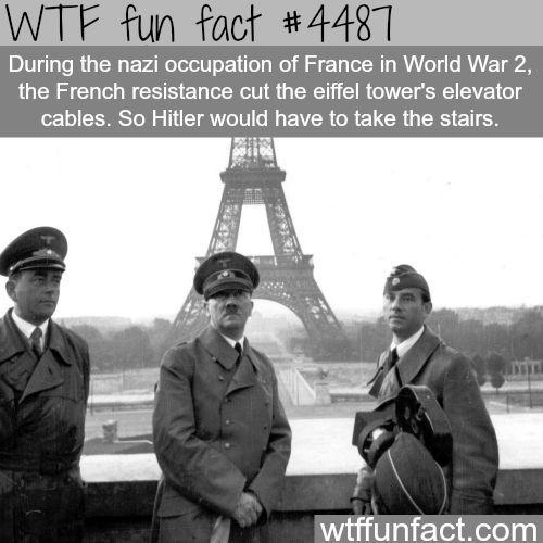 Hitler in Paris - WTF fun facts: