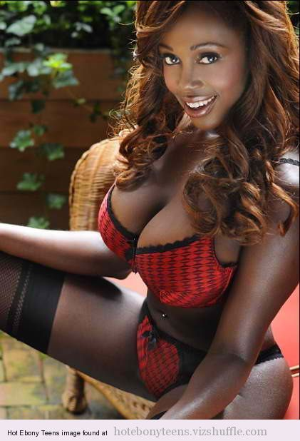 A Beautiful Young Ebony Girl With Huge Tits