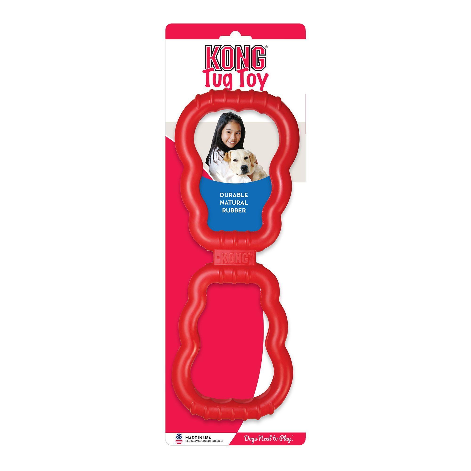Interactive Dog Toys KONG® Tug Dog Toy