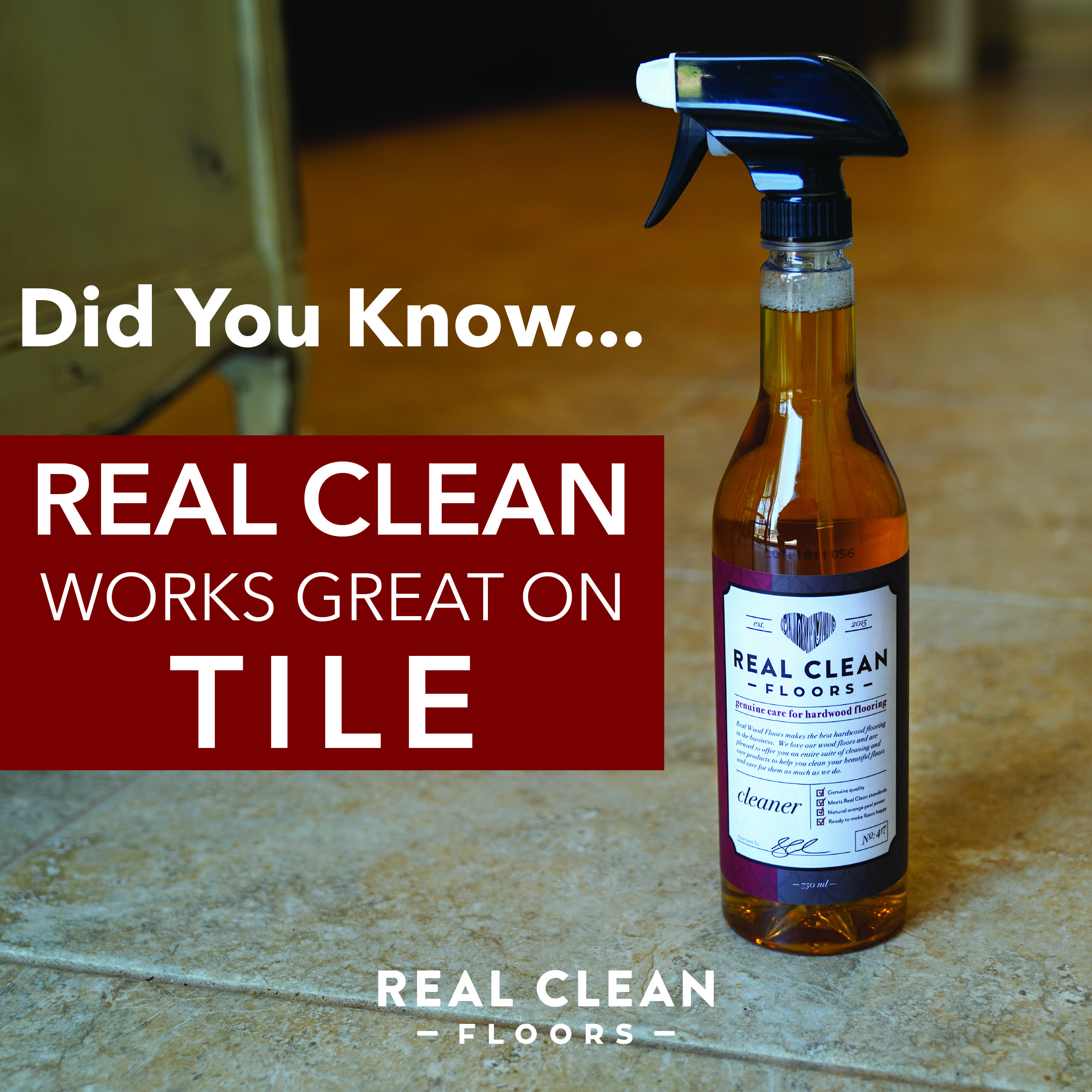 Did you Know You Can Use Real Clean On Most Surfaces in ...