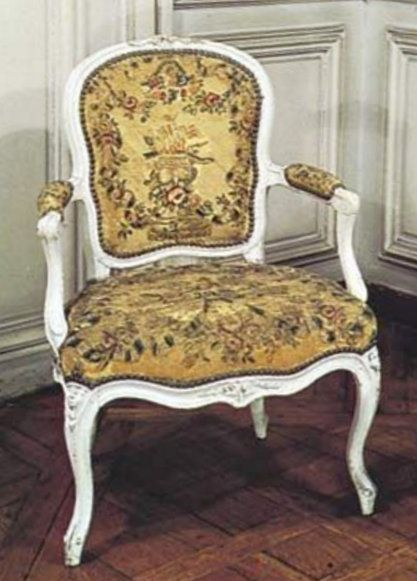 French Rococo Chairs By Louis Delanois 173192 In The