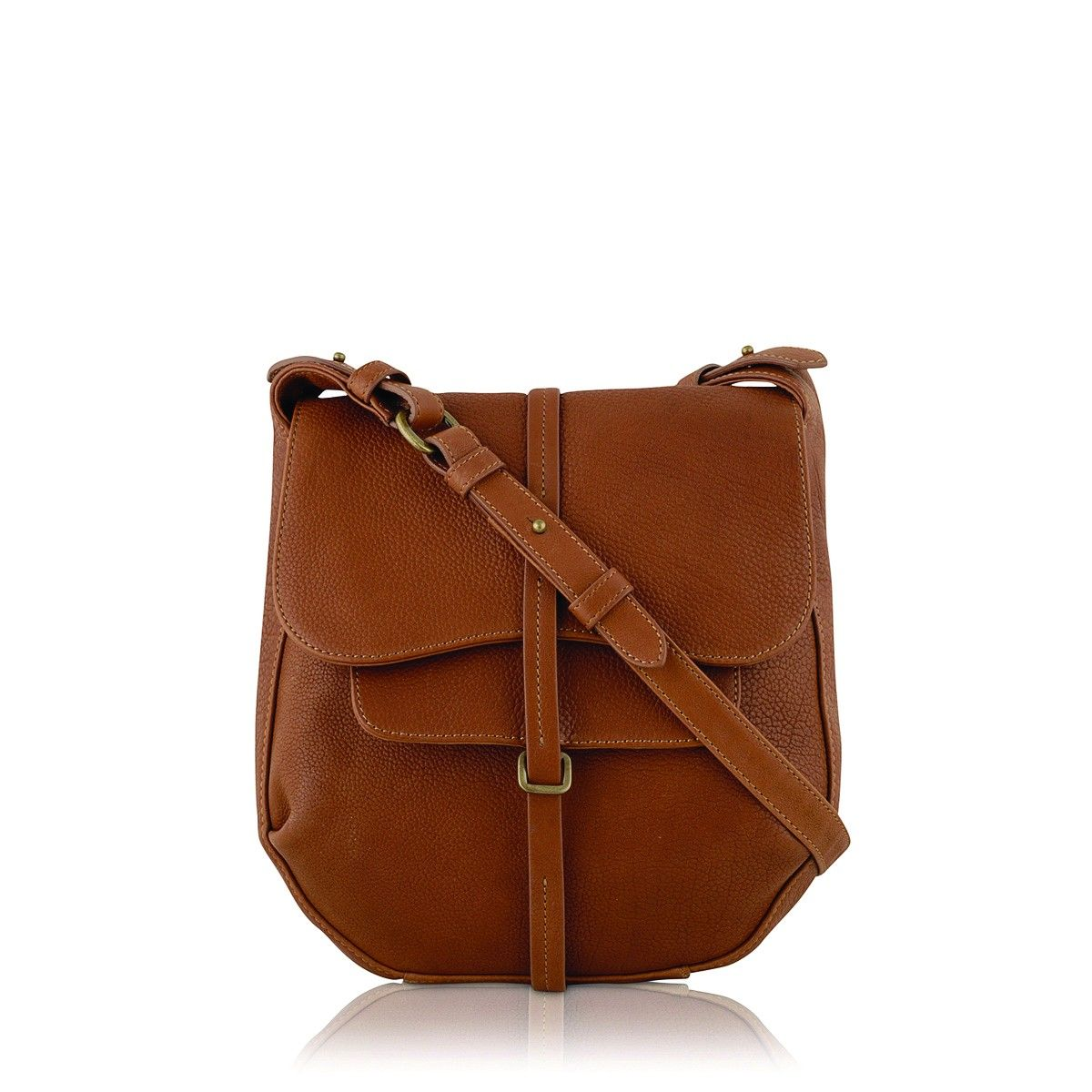 Radley London Grosvenor Medium Cross Body Bag Tan brown supple leather crossbody  handbag bag European 6c30f34583f69