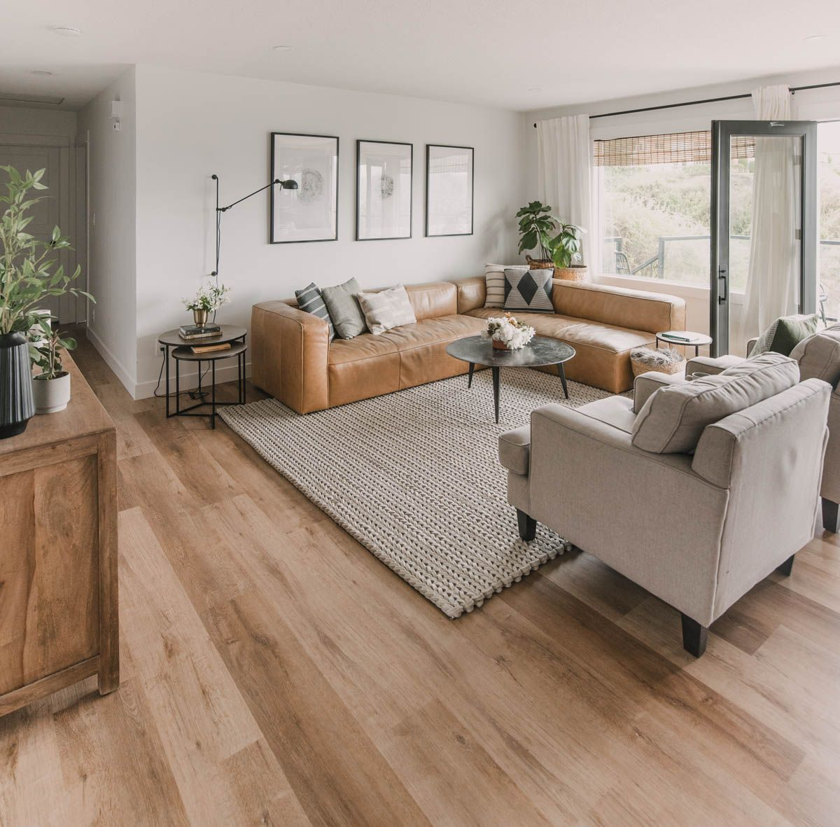 New Floors Summer Home Tour Lemon Thistle In 2020 Home Chic Home Decor Home Decor