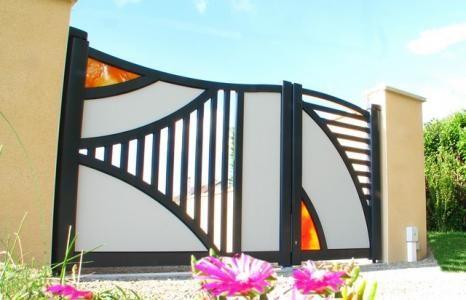 Vente et pose de portails battants   RM Habitat