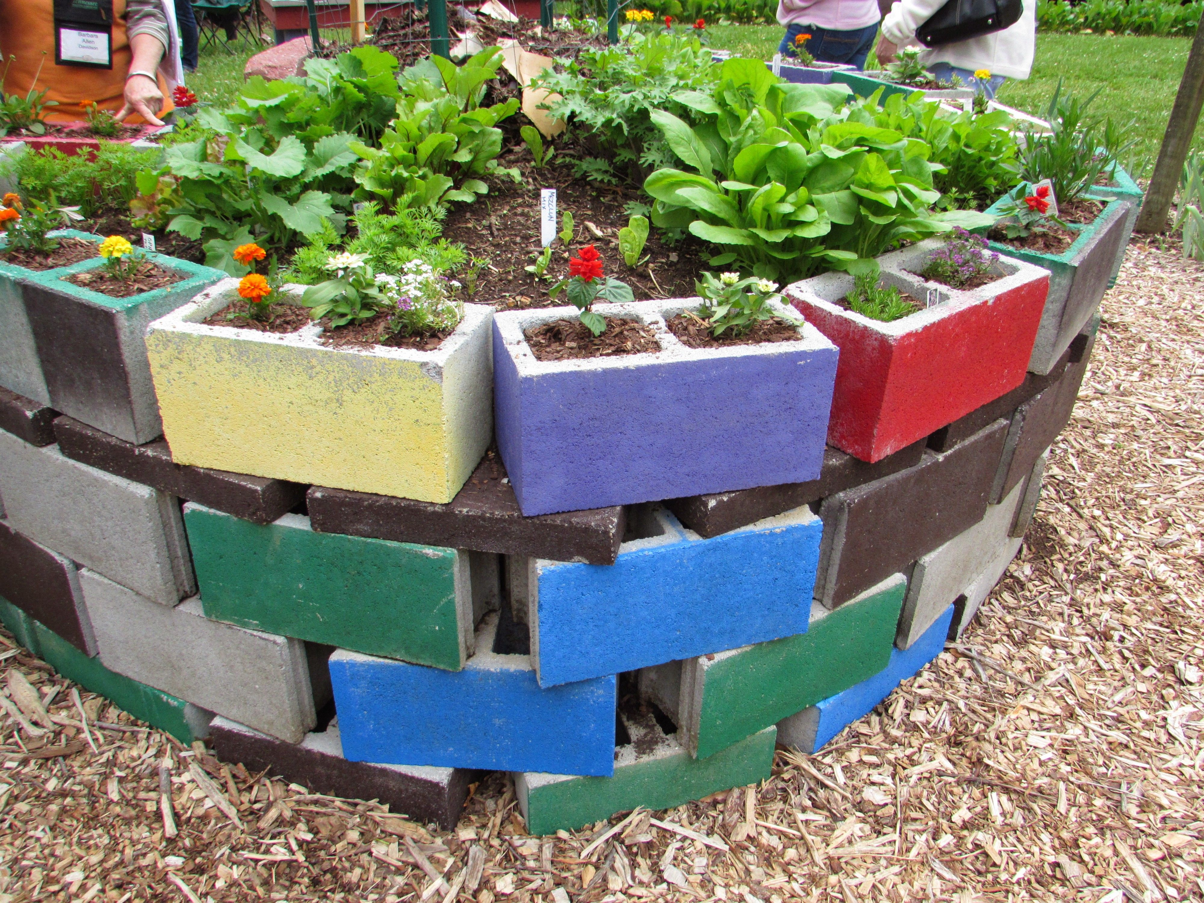 Captivating Many Types Of Gardens Were On Exhibit At The Urban Garden Festival, Which  Was Held