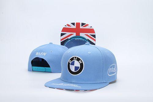 ce6ea675022 BMW Snapback Hats Racing Hats Sky Blue 001