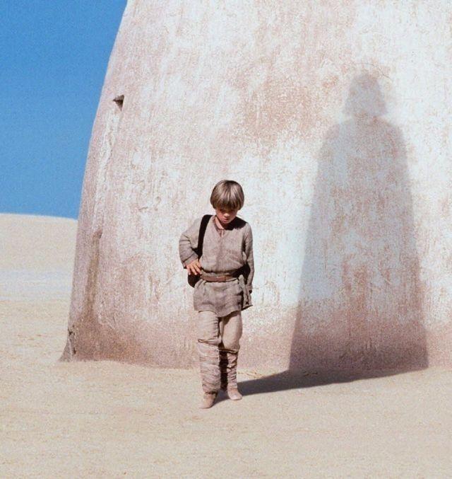 Star Wars. Anakin and Darth Vader.