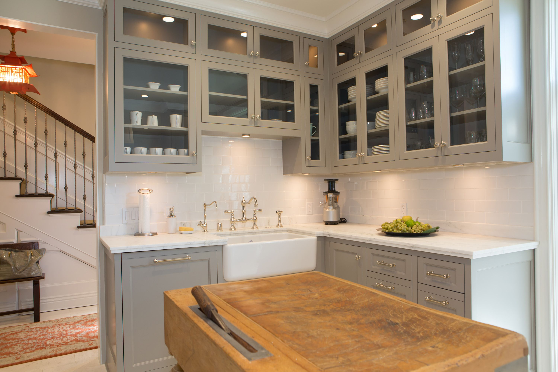 Elegant Townhome In Pasadena Kitchen Design Country Kitchen Kitchen Cabinets