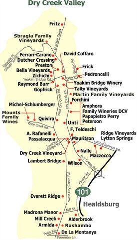 Printable Napa Wine Map Sonoma County Wineries Sonoma County - Napa vineyards map