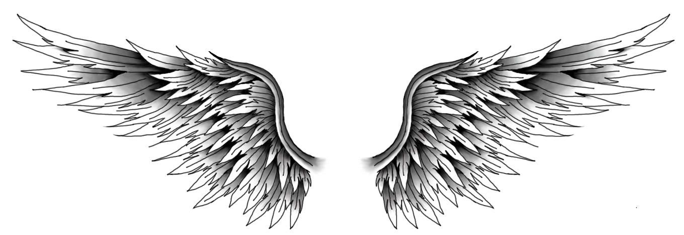 Wings By Kelseysparrow67 On Deviantart Tattoos For Guys Eagle Wing Tattoos Neck Tattoo