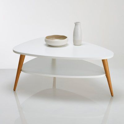 Table Basse Bois Bouleau Plateau Texture Design Minimalist Side Table Table Coffee Table Wood