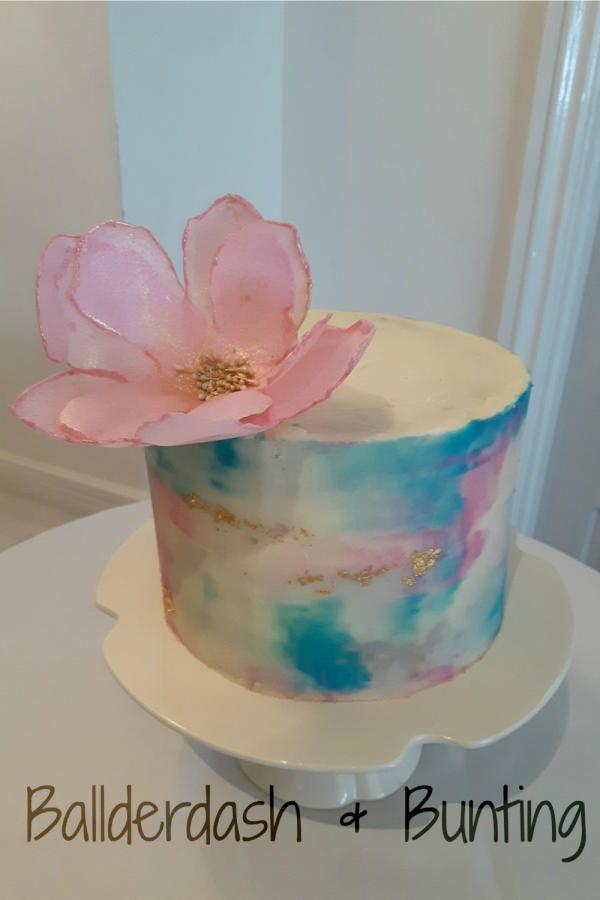 How To Make A Rainbow Birthday Cake Drip Cakes Cake Rainbow