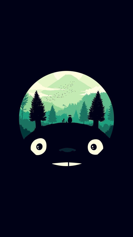 5번째 이미지 Tatouages d'anime, Totoro, Fond d'écran dessin animé
