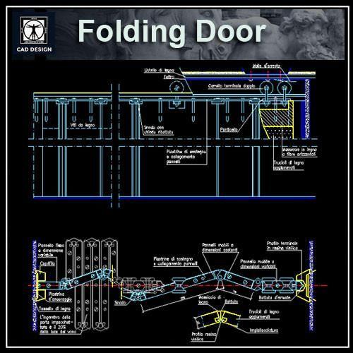 Free Folding Door Details | Arsitektur