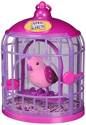 LITTLE LIVE PETS S4 BIRD WITH CAGE PRETTY PRINCESS