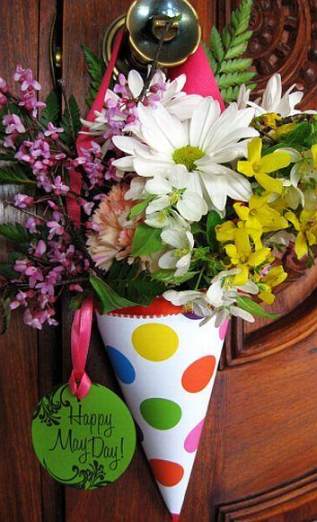 May Day | May day baskets, May baskets, Happy may