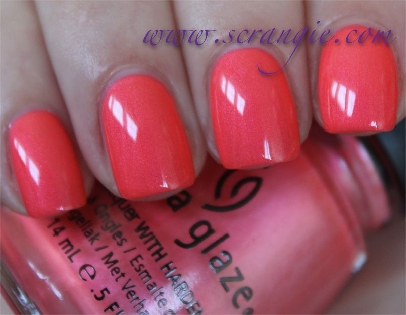 Scrangie: China Glaze Flirty Tankini | The polish wish list ...