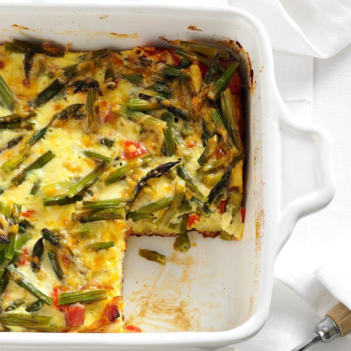Photo of Overnight Asparagus Strata
