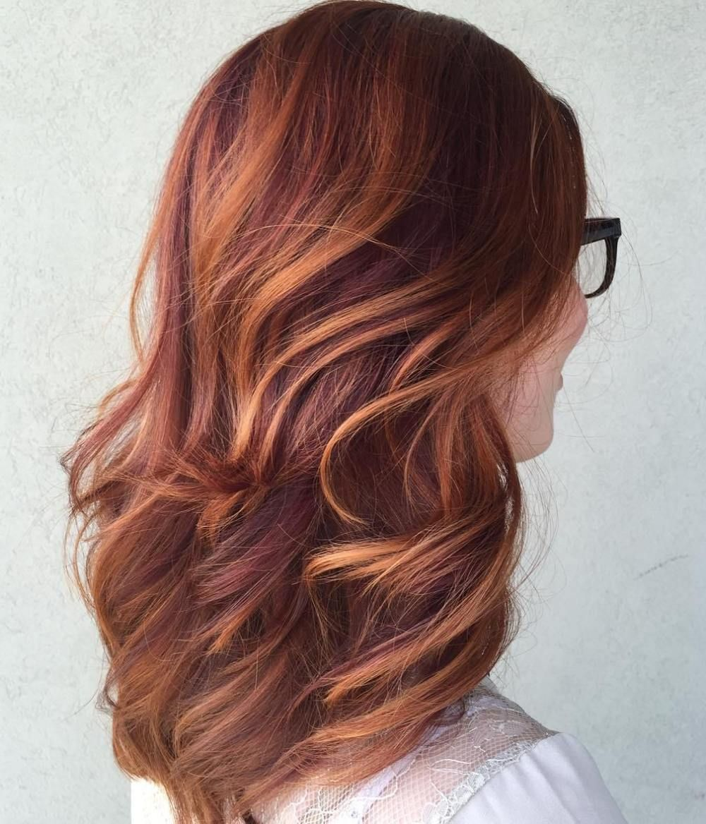 40 Fresh Trendy Ideas For Copper Hair Color In 2019 2017