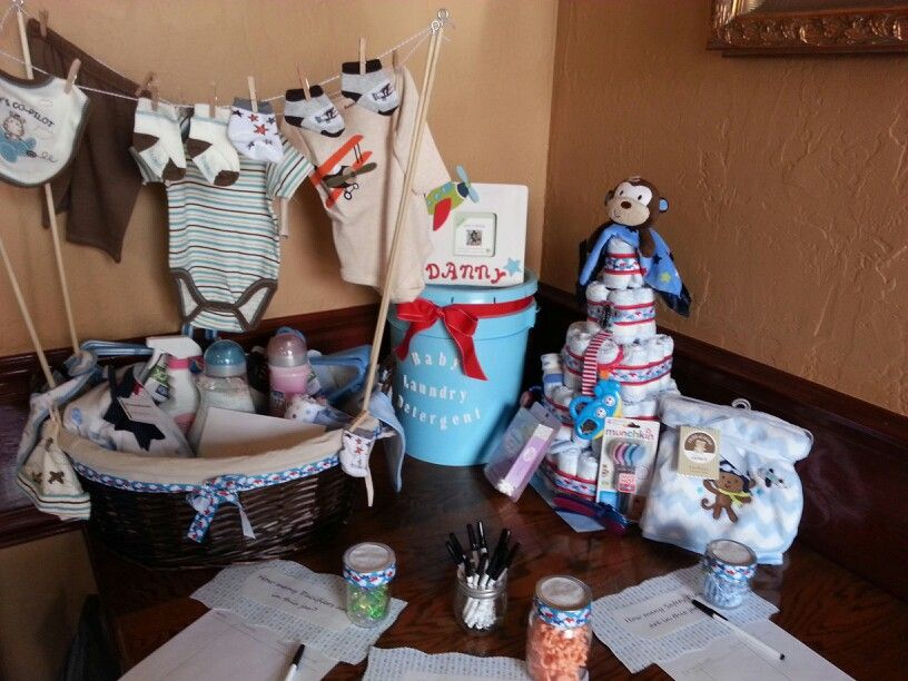 best homemade bridal shower gifts%0A Baby Shower gift   homemade baby detergent and clothesline basket filled  with laundry things for baby