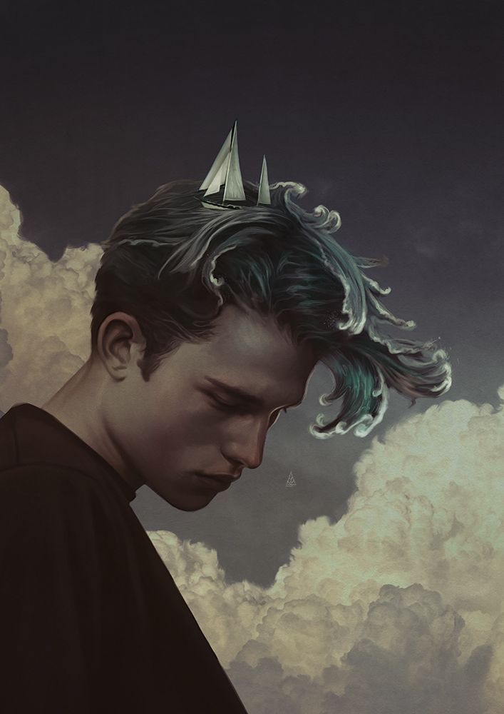 Dreamers: El mágico universo ilustrado de Aykut Aydoğdu - Cultura Inquieta | Ilustración conceptual, Producción artística, Subrealismo arte
