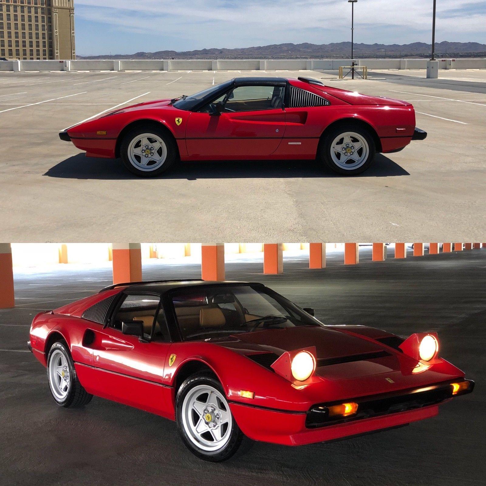 Amazing 1983 Ferrari 308 Gtsi No Reserve Targa Mint Condition 40k Miles California Car 2018