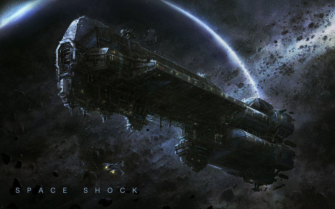 "spaceshipsgalore: "" The Ship by RadoJavor.deviant… on @DeviantArt #spaceship – https://www.pinterest.com/pin/541206080204492583/ """