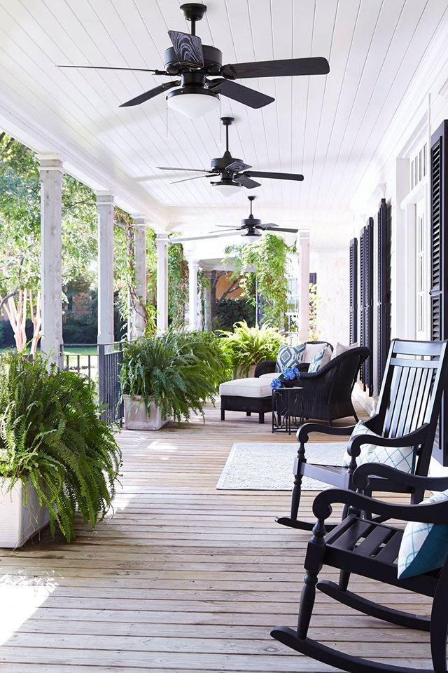 The Summer Days Are Winding Down But The Heat Remains Make Those Afternoons Spent Out On T Patio Fan Outdoor Ceiling Fans Outdoor Ceiling Fans Covered Patios