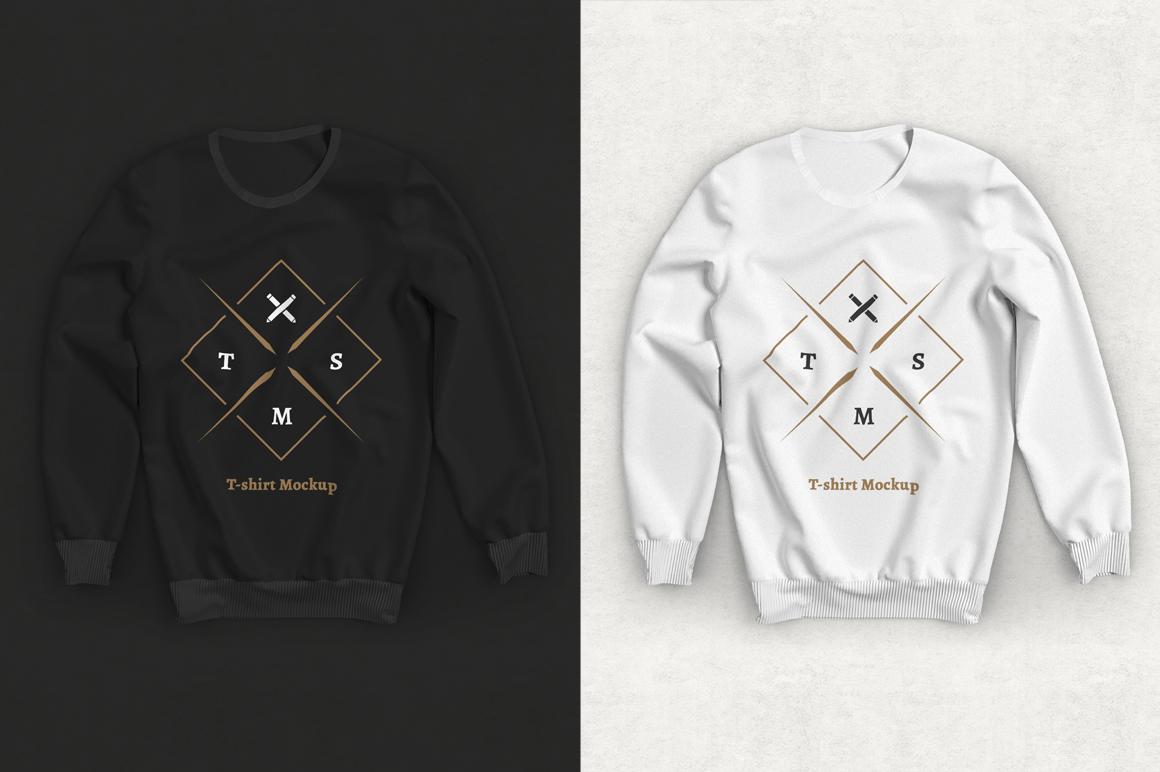 Download Free Long Sleeve T Shirt Mockup On Behance Tshirt Mockup Shirt Mockup Long Sleeve Tshirt